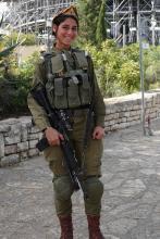 Naissotilas Herzlin vuorella