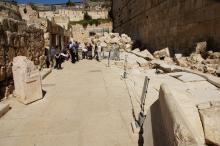 Jerusalem, Jeesuksen aikaista katua
