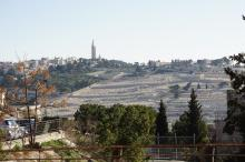 Jerusalem, näkymä Öljymäelle