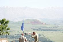 tähystäjiä Golanilla