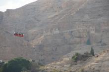 Jeriko, luostari vuorella