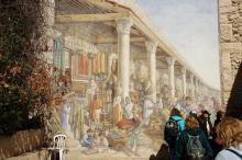 Jerusalem, seinämaalaus