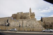 Jerusalem, vanhaa muuria