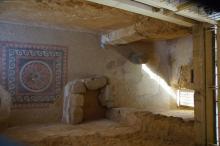 Herodeksen palatsin lattia Masadalla